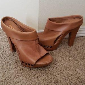 Matisse studded leather heels